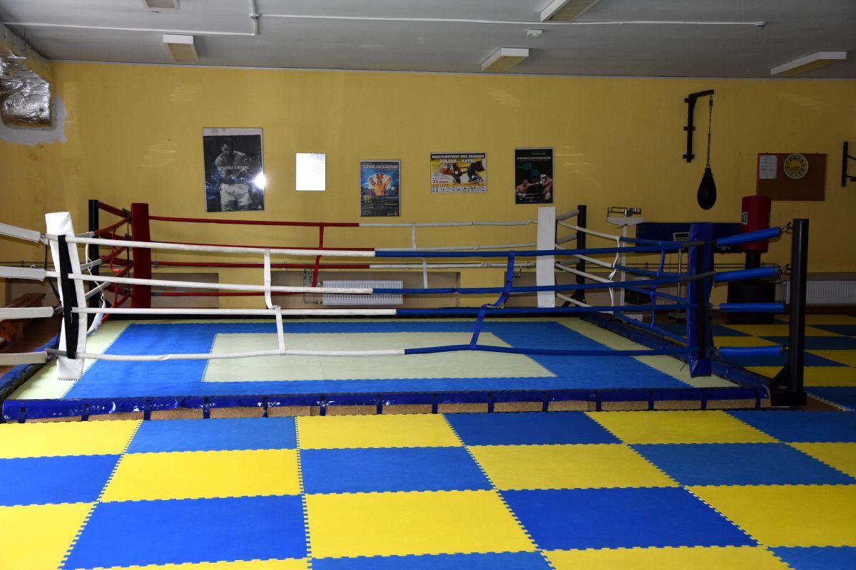 Sala sportów walki