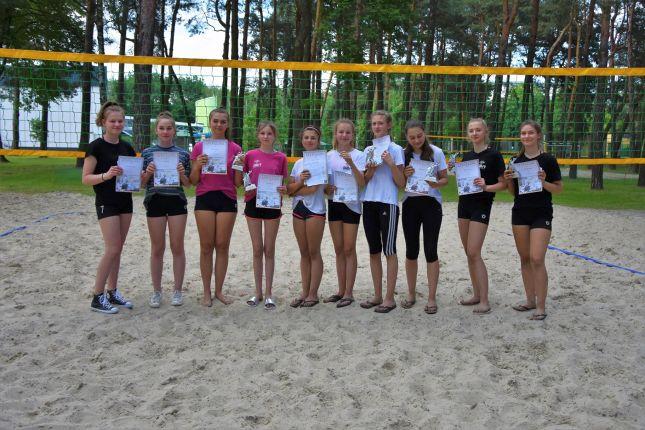 Młodzieżowe Mistrzostwa Podkarpacia w Siatkówce Plażowej Kobiet