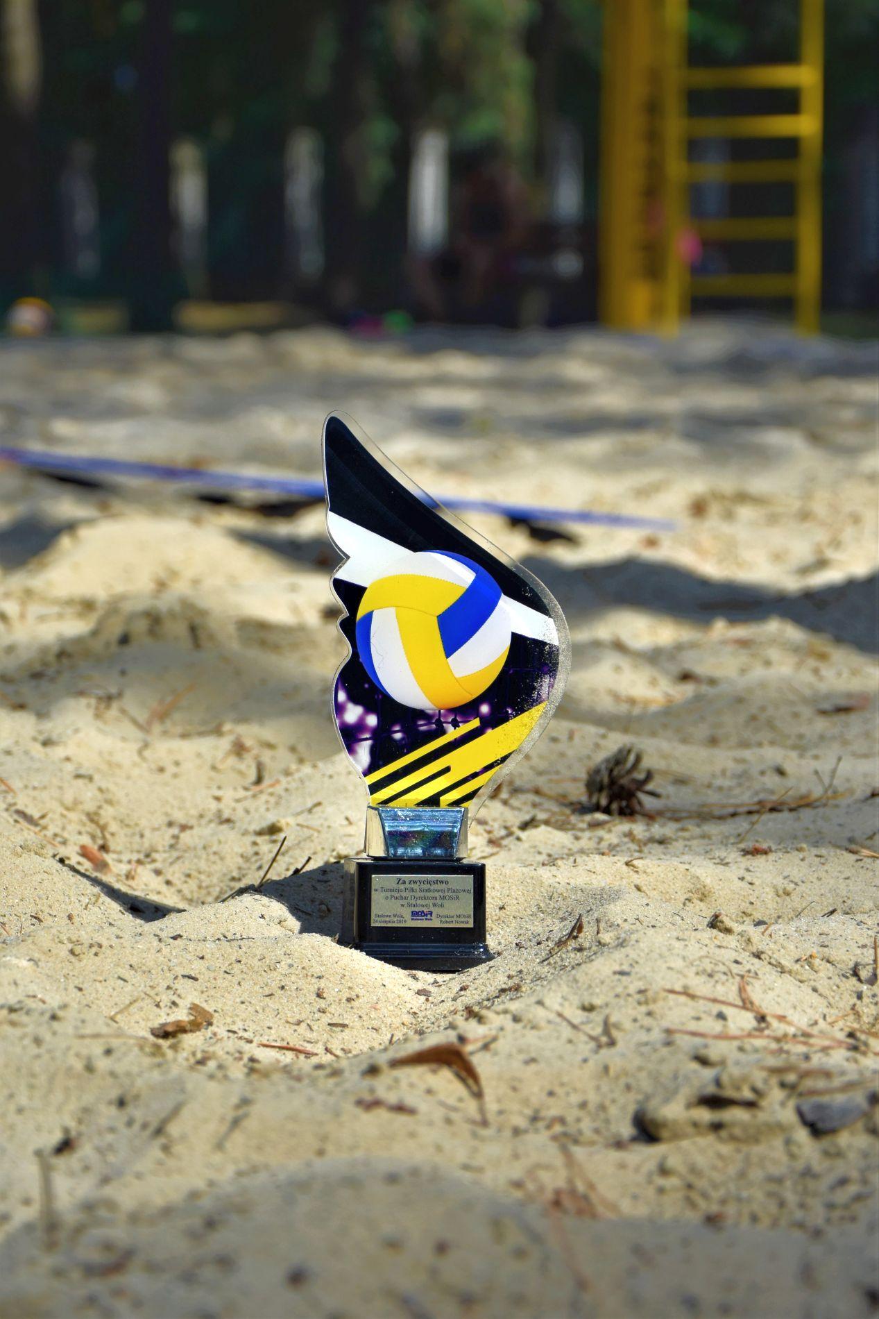 Turniej Piłki Siatkowej Plażowej o Puchar Dyrektora MOSiR