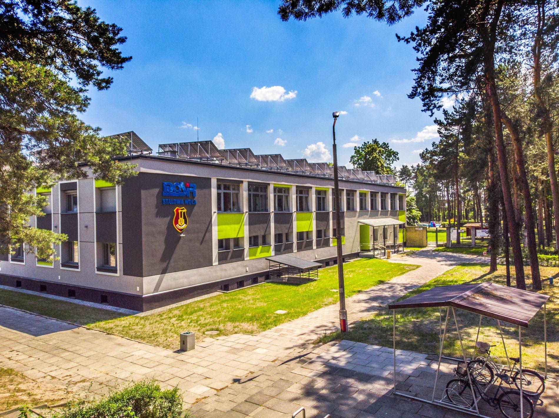 Budynek MOSiR ul. Hutnicza 15